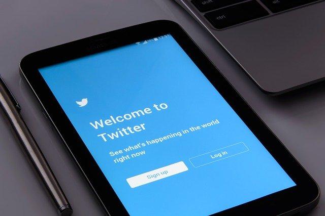 přihlášení Twitteru