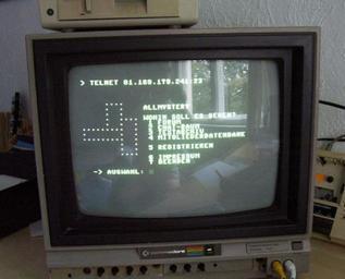 první monitory